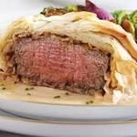 Beef Wellington Wrapped in Phyllo