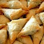 Spanakopita (Spinach and Feta Cheese Wrapped in Phyllo